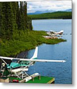 Float Planes Metal Print