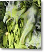Floater In The Forrest Metal Print