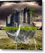Floating Castle Metal Print