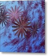 Floating Floral - 001 Metal Print