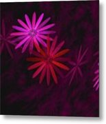 Floating Floral - 006 Metal Print