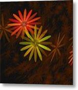 Floating Floral-008 Metal Print