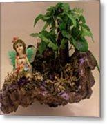 Floating Island Fairy Metal Print