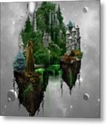 Floating Kingdom Metal Print
