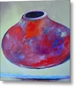 Floating Pot Metal Print