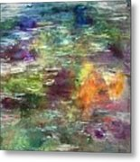 Floating Tranquility Metal Print