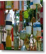 Floats And Buoys II Metal Print