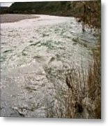 Flooding River Metal Print