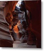 Floor Of Antelope Canyon Metal Print