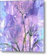 Flora Haze Metal Print