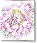 Floradoodle Metal Print