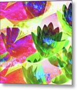 Floral Abstract #3 Metal Print