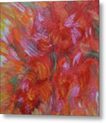Floral Abstract, Sunshine Bouquet Metal Print