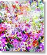 Floral Art Clvi Metal Print