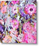 Floral Art Clviii Metal Print