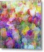 Floral Art Cxi Metal Print