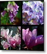 Floral Beauties Metal Print
