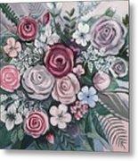Floral Boom Metal Print