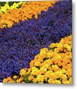 Floral Carpet Metal Print