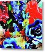 Floral Celebration Metal Print