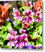 Floral Design 5 Light Metal Print