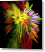 Floral Explosion Metal Print