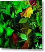 Floral Expression 080616 Metal Print