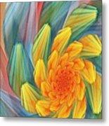 Floral Expressions 1 Metal Print