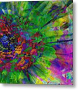 Floral Expressions II Metal Print