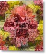Floral Flux Metal Print