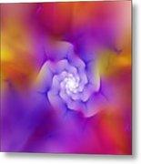 Floral Fractal 052210 Metal Print