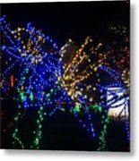 Floral Lights Metal Print