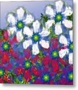 Floral Madness 2 Metal Print