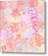 Floral Menagerie Metal Print