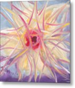 Floral Spirit Of Growth Metal Print