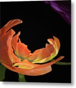 Floral Spring Tulips 2017 Abstract 01 Metal Print