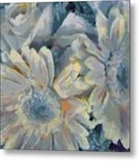 Floral Vegged Out Wow Metal Print