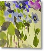 Floral Vines Metal Print