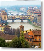 Florence Italy Metal Print by Photography By Spintheday