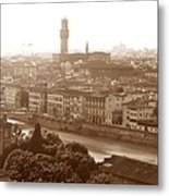 Florence Italy Wide Metal Print