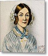 Florence Nightingale, Nurse Metal Print