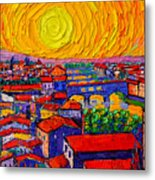 Florence Sunset 12 Metal Print