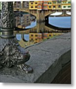 Florence The Old Bridge Metal Print