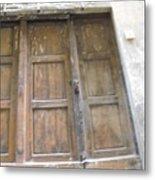Florentine Door 4 Metal Print