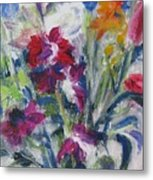 Floribunda Bouquet Metal Print