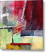 Florid Dream - Red Metal Print