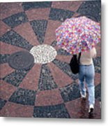 Florida - Umbrellas Series 1 Metal Print