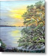Florida Bay Sunrise Metal Print