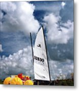 Florida Beach 3 Metal Print