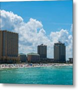 Florida Beach Panama City Metal Print